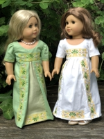Regency Dress for Dolls