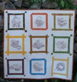 Quilt projects with machine embroidery image 15