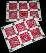 Quilt projects with machine embroidery image 93