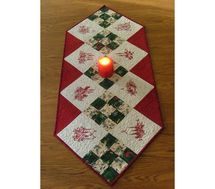 Christmas Candle Table Runner image 1