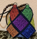 Multi-Colored Celtic Purse