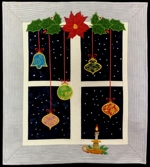 Christmas Window Wall Quilt