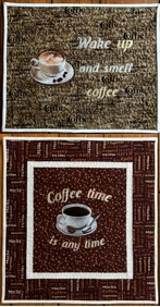 Coffee Themed Mini Quilts