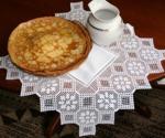 FSL Crochet Pineapple Table Topper -2 image 11