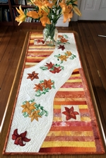 Daylily Quilted Tablerunner
