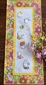 Easter Bunny Tablerunner