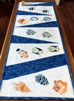 Tropical Vacation Table Runner or Wall Hanging