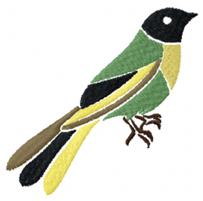 Bird free machine embroidery designs