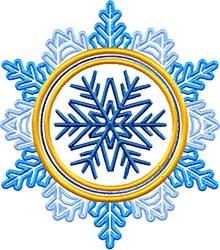 Snowflake free machine embroidery designs