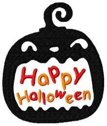 Happy Halloween free machine embroidery designs