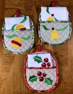 Christmas Projects and Gift Ideas with machine embroidery image 3