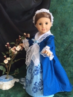 Historical Dress of the 18th century on a 18-inch doll
