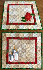 Quilt projects with machine embroidery image 29