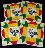 Quilt projects with machine embroidery image 13