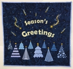 Season's Greetings Wall Quilt