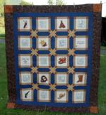 Quilt projects with machine embroidery image 9