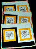 Quilt projects with machine embroidery image 67
