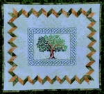 Summer Tree Wall Quilt