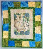 Quilt projects with machine embroidery image 26