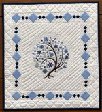 Winter Tree Art Quilt