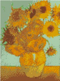 Twelve Sunflowers in a Vase by Vincent van Gogh