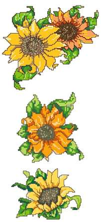 Advanced Embroidery Designs Sunflower Collection