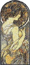 The Cowslip by Alphonse Mucha