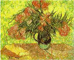 Vincent van Gogh. Majolica Jar with Branches of Ol