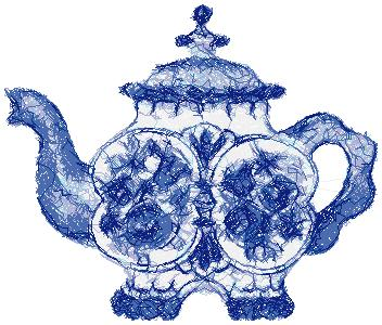 TEAPOT MACHINE EMBROIDERY DESIGNS  EMBROIDERY Amp ORIGAMI