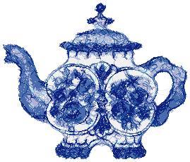 Porcelain Teapot II