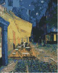 Vincent van Gogh. Cafe Terrace at Night.