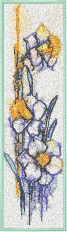 Narcissus Bookmark