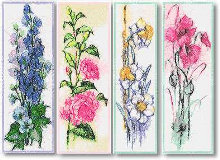 Flower Bookmark Set