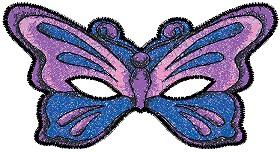 Как сделать маску бабочка из бумаги
