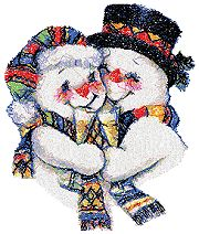 Snowman Couple II