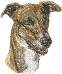 Advanced Embroidery Designs - Greyhound