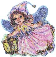Little Fairy with Lantern
