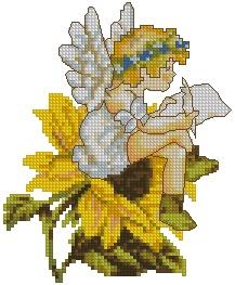 Elf on a Sunflower
