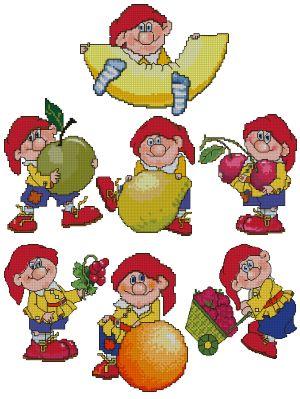 Dwarf with Fruit Set