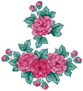 Rose Embellishment Set