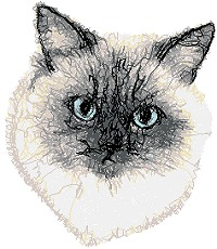 Advanced Embroidery Designs Animals Cats Embroidery Designs