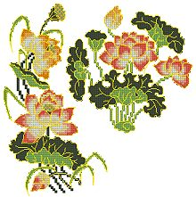 Oriental Lotus Set
