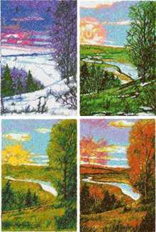 Landscape embroidery designs for Advanced landscape design