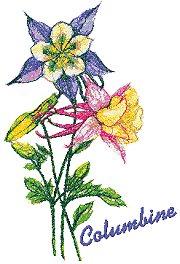 Garden Flower Series: Columbine