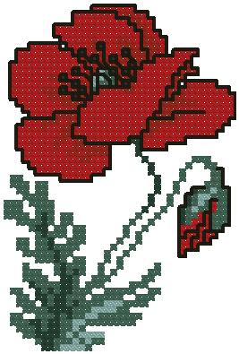Advanced Embroidery Designs Poppy