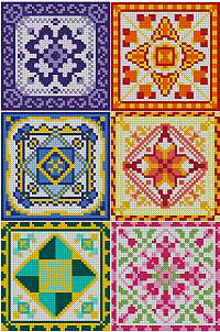 Quilt Ornament Set