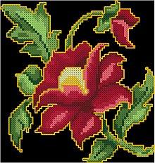 Indian Floral Motif I