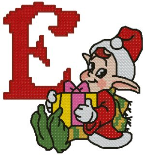 E is for Elf
