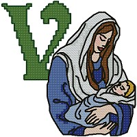 V is for Virgin Mary