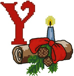 Y is for Yule Log